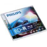 Philips BD-R25 25Gb 6x írható Blu-Ray lemez