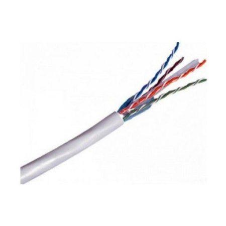 Legrand Cat6 árnyékolatlan (U/UTP) 4 érpár (AWG23) PVC fehér Eca 305m kartondoboz Linkeo réz fali kábel