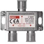 Emos J0102 EM2342 2 utas antenna elosztó