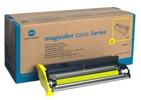 mc 2200/2210 sárga festék kazetta