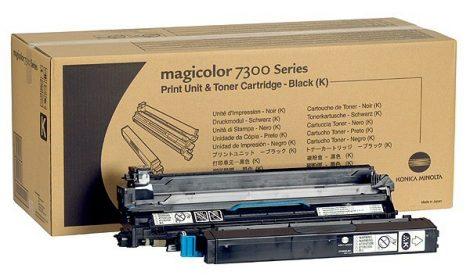 mc 7300 fekete festékező egység + 1 új festék
