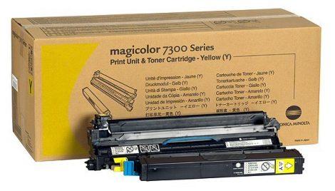 mc 7300 sárga festékező egység + 1 új festék