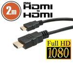 Delight 2m HDMI - mini HDMI kábel